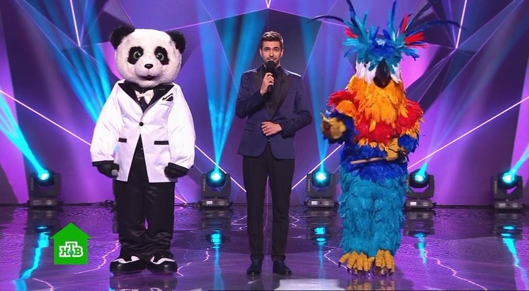 Маска НТВ 5 выпуск 29 марта 2020 Попугай и Панда