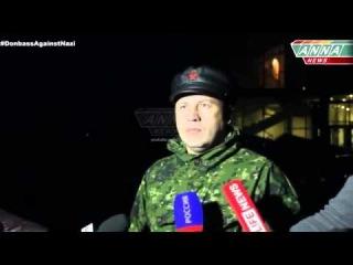 Заместитель командующего народной милиции минобороны ЛНР   полковник Виталий Киселев