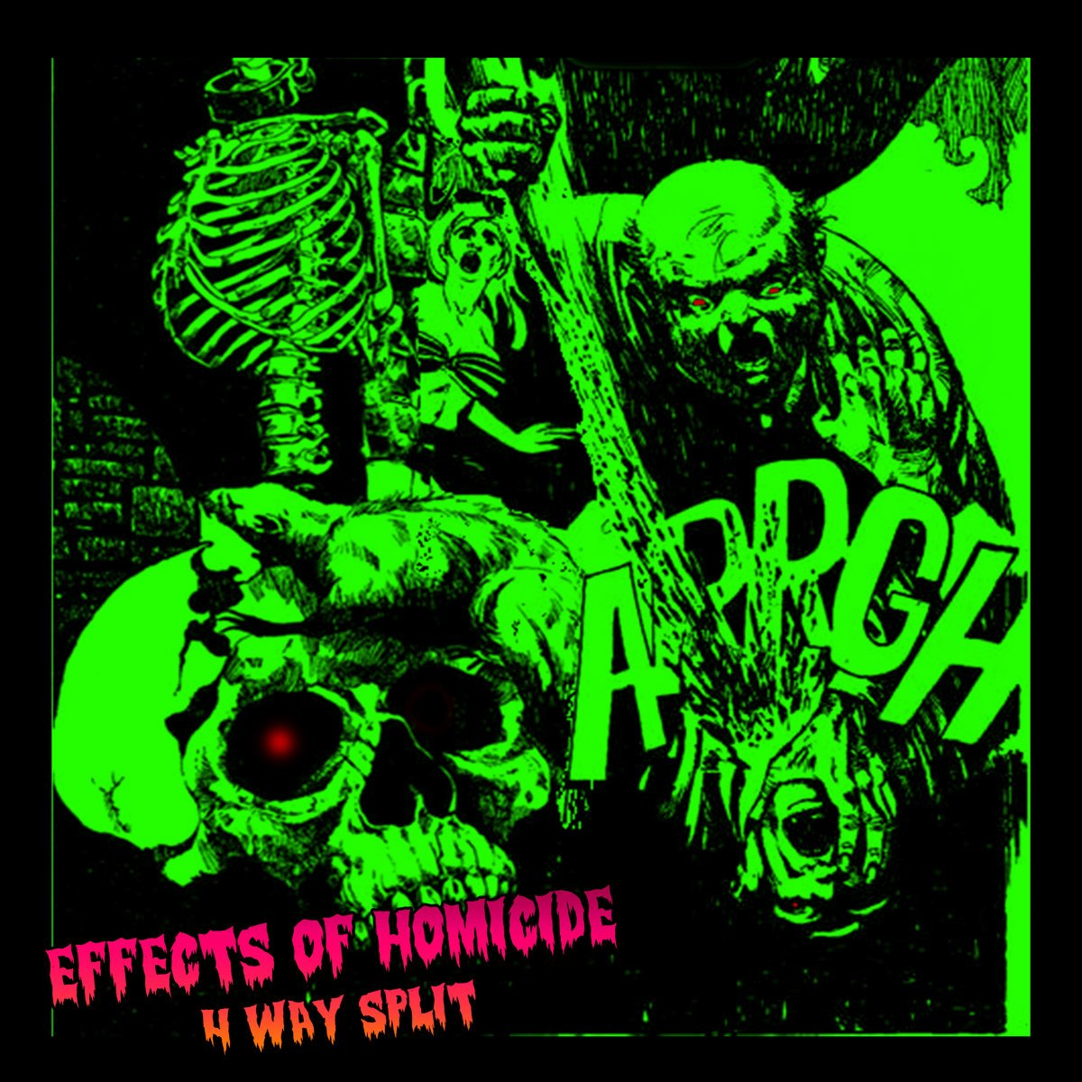 Various Artists - Effects of Homicide [Split]