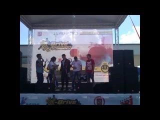 Петров и Милованов на фестивале скорости 2013