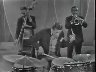 Sammy Davis Jr. on drums & vibes