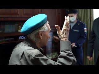 Ивановские десантники навестили ветерана Великой Отечественной, который воевал в составе ВДВ