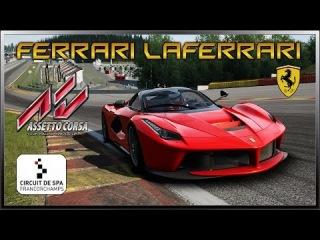Assetto Corsa 1.0 RC - Ferrari LaFerrari @ Spa-Francorchamps