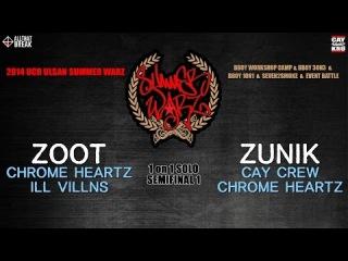 | << ZOOT v ZUNIK / 1 on 1 Semifinal 1 / Ulsan Summer Warz Vol.6 | <<