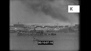 1941 Libya, Attack On Tobruk Harbour, Air Raid, WWII, 35mm