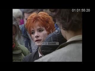 Tournage du clip désenchantée (pour un clip avec toi, m6 bank)