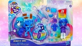 ОБЗОР Набора MLP Equestria Girls Пони Волшебное зеркало Принцесса Луна