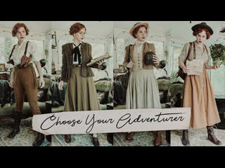 Choose Your Adventurer! || 10 Outfits To Pretend Youre a Vintage-y Explorer ~