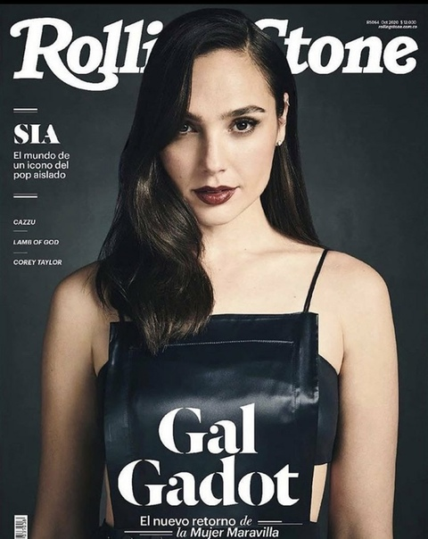 Красавица Галь Гадот на обложках октябрьского выпуска Rolling Stone