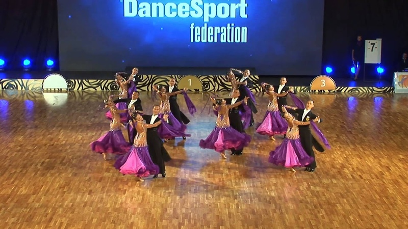 Vera Tyumen Russia at WDSF World DanceSport Championship Formation Standard 1 place