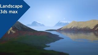 Rendering Landscape 3ds max tutorial final part