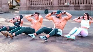 Cardio y Abdomen Intenso ⚠️ 5 MIN Cardio & Abs Tabata Workout