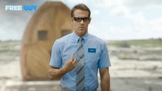 Free Guy   Ryan Reynolds is Blue Shirt Guy
