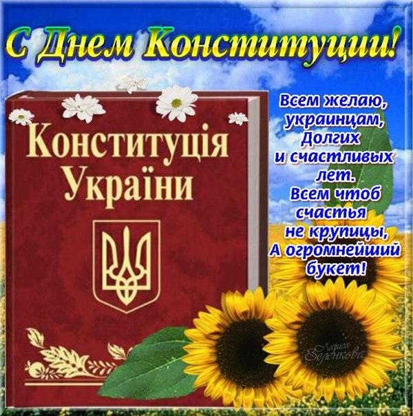 поздравления с днем конституции украины картинки плюс море пляж