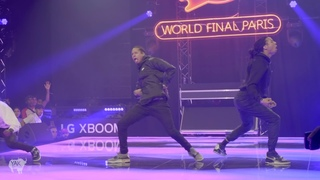 LES TWINS ft SALIF Performance at Red Bull Dance Your Style World Finals | Paris, France YAK FILMS