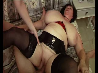Olga - Au secours, ma belle mere me kiffe! [Anal, BBW, Big Tits, Blowjob, DP, Facial, French, GILF, Granny, GS, Pissing]