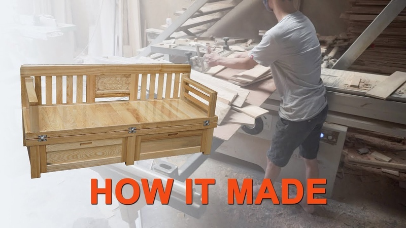 Các Bước Sản Xuất Ghế Kết Hợp Giường 2 Trong 1 - Steps To Produce Combined Chair With Bed