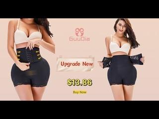 GUUDIA Butt Lifter Shapewear Body Shaper Shorts Paded Panties Control Panties Sexy Shapers