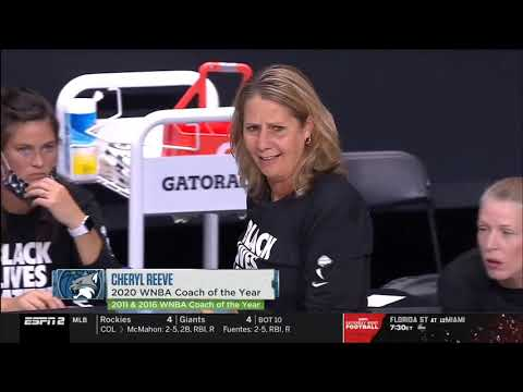 Minnesota Lynx Seattle Storm WNBA Semi Final Second Game 24 09 20
