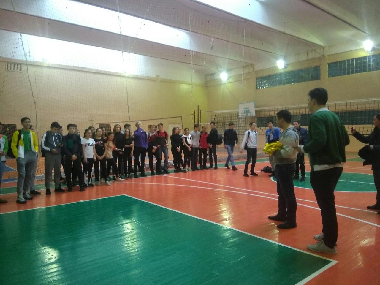 Турнир по волейболу среди школьных самоуправлений «Жас Ұлан»