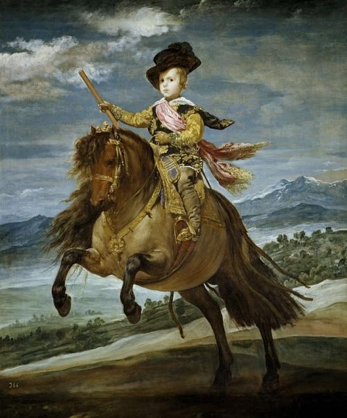«Конный портрет инфанта Балтазара Карлоса», Диего Веласкес