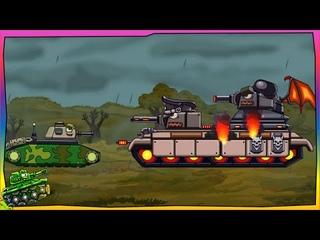 Trò chơi bắn xe tăng quái vật - Leviathan và những người bạn sắt | Phim hoạt hình về xe tăng