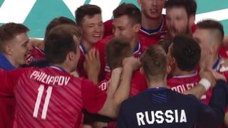 Russia vs. France - Match Highlights