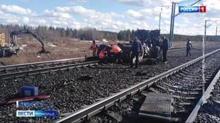 Второй день рождения впору отмечать мужчине попавшему накануне под поезд на станции Котлас-Северный