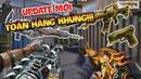 CF Mobile CF Legends Update Bộ Súng M4A1 VIP Quan Vũ Và 6 Nòng Vip Gatling Gun Infenal Dragon