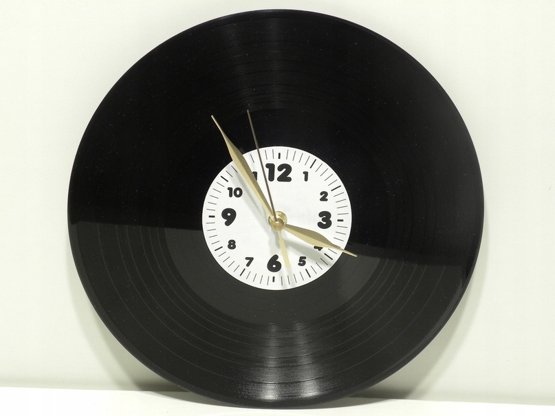 Эволюция изготовления часов и других изделий из виниловых пластинок, изображение №11