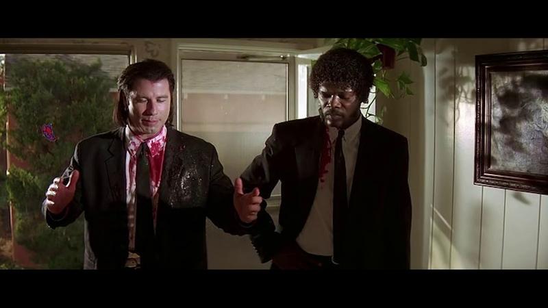 Мистер Вульф приезжает на помощь Джулсу и Винсенту Криминальное чтиво