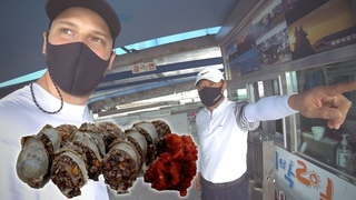 TASTING PIG INTESTINES INSIDE NORTH KOREAN REFUGEE VILLAGE