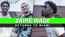 Zaire Wade Returns to Miami 🔥🏝 Private Workout with Young Flash