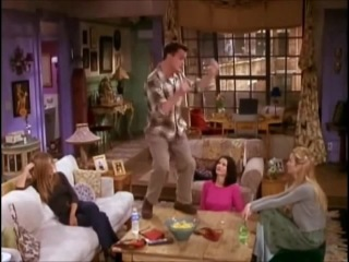 Friends - Chandler's victory dance
