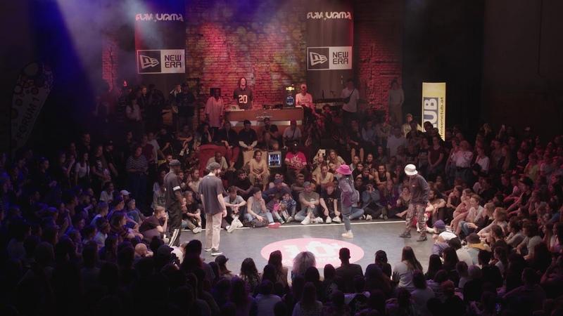 Flavourama 2018 Top 16 Hip Hop: Mikey Johnny UK vs. Toyin N n US CA