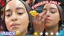 I WENT TO THE WORST REVIEWED MAKEUP ARTIST IN MY CITY SHE USES ONLY HER FINGERS saifabeauty