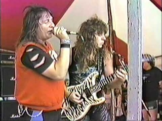 Savatage - Out On The Streets ( live 1986 )