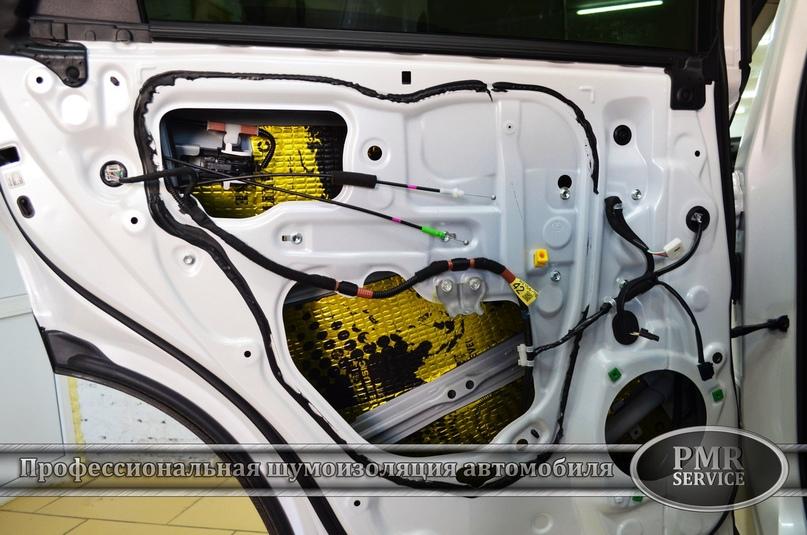 Комплексная шумоизоляция Lexus NX 200, изображение №15